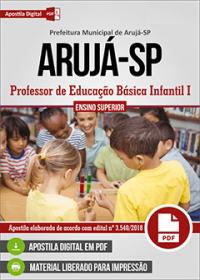 Professor de Educação Básica Infantil I - Prefeitura de Arujá - SP