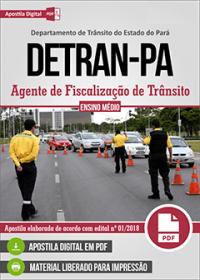Agente de Fiscalização de Trânsito - DETRAN-PA