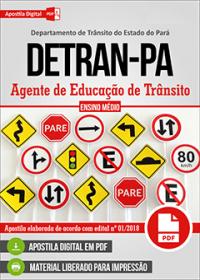 Agente de Educação de Trânsito - DETRAN-PA