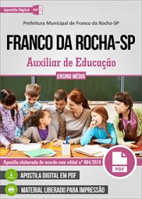 Auxiliar de Educação - Prefeitura de Franco da Rocha-SP