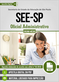 Oficial Administrativo - SEE-SP