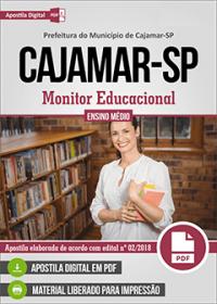 Monitor Educacional - Prefeitura de Cajamar - SP