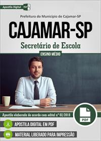Secretário de Escola - Prefeitura de Cajamar - SP