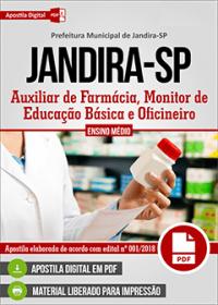 Auxiliar de Farmácia - Prefeitura de Jandira - SP