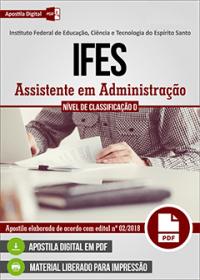Assistente em Administração - IFES