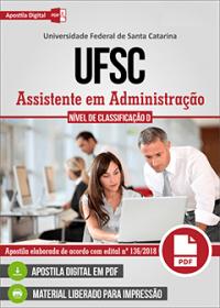 Assistente em Administração - UFSC