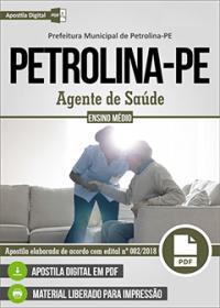 Agente de Saúde - Prefeitura de Petrolina - PE