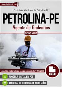 Agente de Endemias - Prefeitura de Petrolina - PE