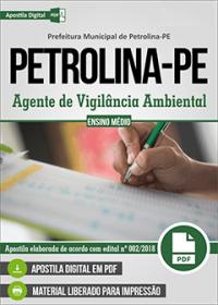 Agente de Vigilância Ambiental - Prefeitura de Petrolina - PE