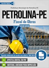 Fiscal de Obras - Prefeitura de Petrolina - PE