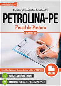 Fiscal de Postura - Prefeitura de Petrolina - PE