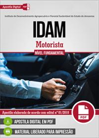 Motorista - IDAM