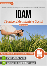 Técnico Extensionista Social - IDAM