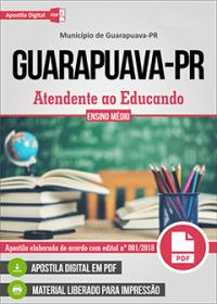 Atendente ao Educando - Prefeitura de Guarapuava - PR