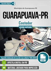 Contador - Prefeitura de Guarapuava - PR