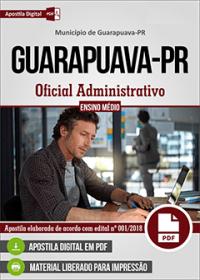 Oficial Administrativo - Prefeitura de Guarapuava - PR