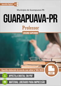 Professor - Prefeitura de Guarapuava - PR