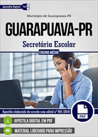 Secretária Escolar - Prefeitura de Guarapuava - PR