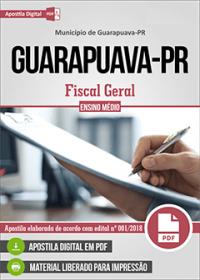 Fiscal Geral - Prefeitura de Guarapuava - PR