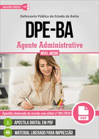 Agente Administrativo - DPE-BA