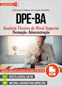 Analista Técnico de Nível Superior - Administração - DPE-BA