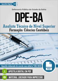 Analista Técnico de Nível Superior - Ciências Contábeis - DPE-BA