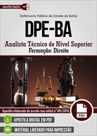 Analista Técnico de Nível Superior - Direito - DPE-BA