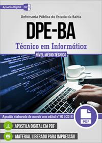 Técnico em Informática - DPE-BA