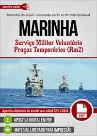 Serviço Militar Voluntário - Praças Temporários RM2 - MARINHA