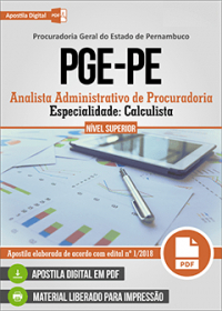 Analista Administrativo de Procuradoria - Calculista - PGE-PE