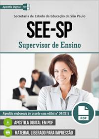 Supervisor de Ensino - SEE-SP