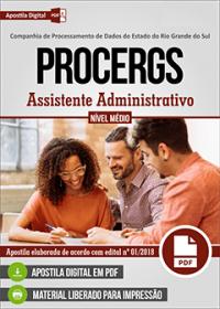 Assistente Administrativo - PROCERGS