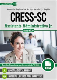 Assistente Administrativo Jr. - CRESS-SC