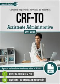 Assistente Administrativo - CRF-TO