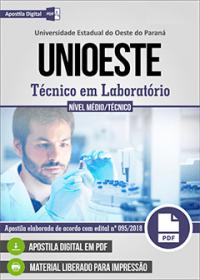 Técnico em Laboratório - UNIOESTE