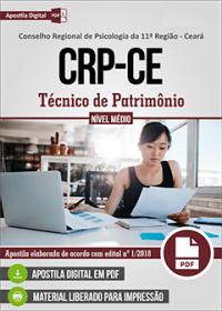 Técnico de Patrimônio - CRP-CE