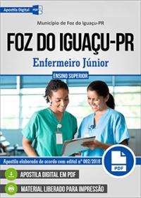 Enfermeiro Júnior - Prefeitura de Foz do Iguaçu - PR