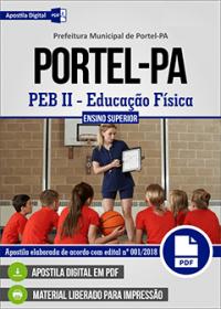 PEB II - Educação Física - Prefeitura de Portel - PA