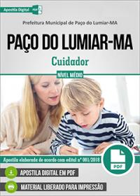 Cuidador - Prefeitura de Paço do Lumiar - MA