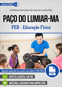 PEB - Educação Física - Prefeitura de Paço do Lumiar - MA