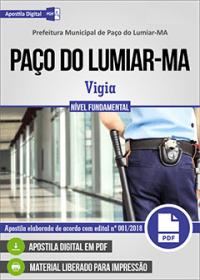 Vigia - Prefeitura de Paço do Lumiar - MA