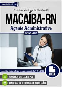 Agente Administrativo - Prefeitura de Macaíba - RN