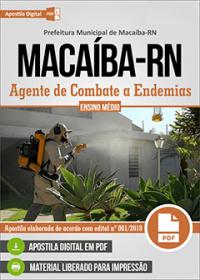 Agente de Combate a Endemias - Prefeitura de Macaíba - RN
