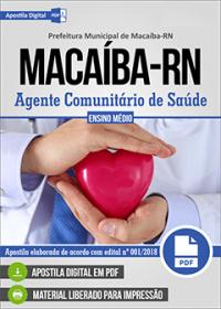Agente Comunitário de Saúde - Prefeitura de Macaíba - RN