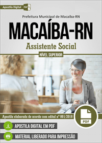 Assistente Social - Prefeitura de Macaíba - RN