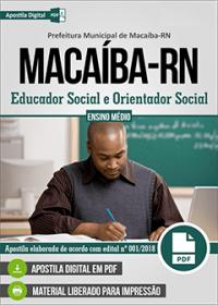 Educador Social e Orientador Social - Prefeitura de Macaíba - RN