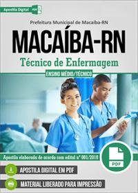 Técnico de Enfermagem - Prefeitura de Macaíba - RN