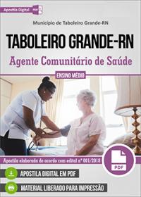 Agente Comunitário de Saúde - Prefeitura de Taboleiro Grande - RN