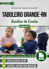 Auxiliar de Creche - Prefeitura de Taboleiro Grande - RN