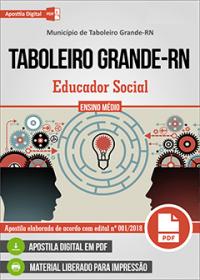 Educador Social - Prefeitura de Taboleiro Grande - RN